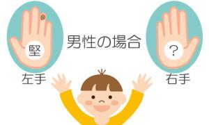 堅_両手紋_男