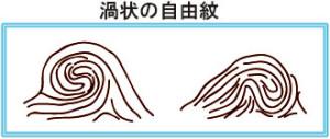 渦_自由紋
