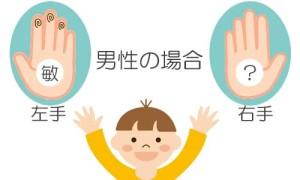 敏_両手紋_男